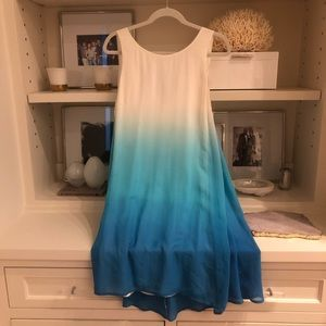 NWT JULIE BROWN ombré mini dress
